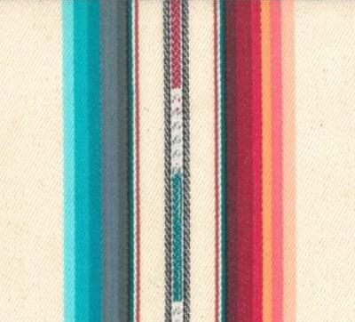 SERAPE SUNSET STRIPE Bib Dress