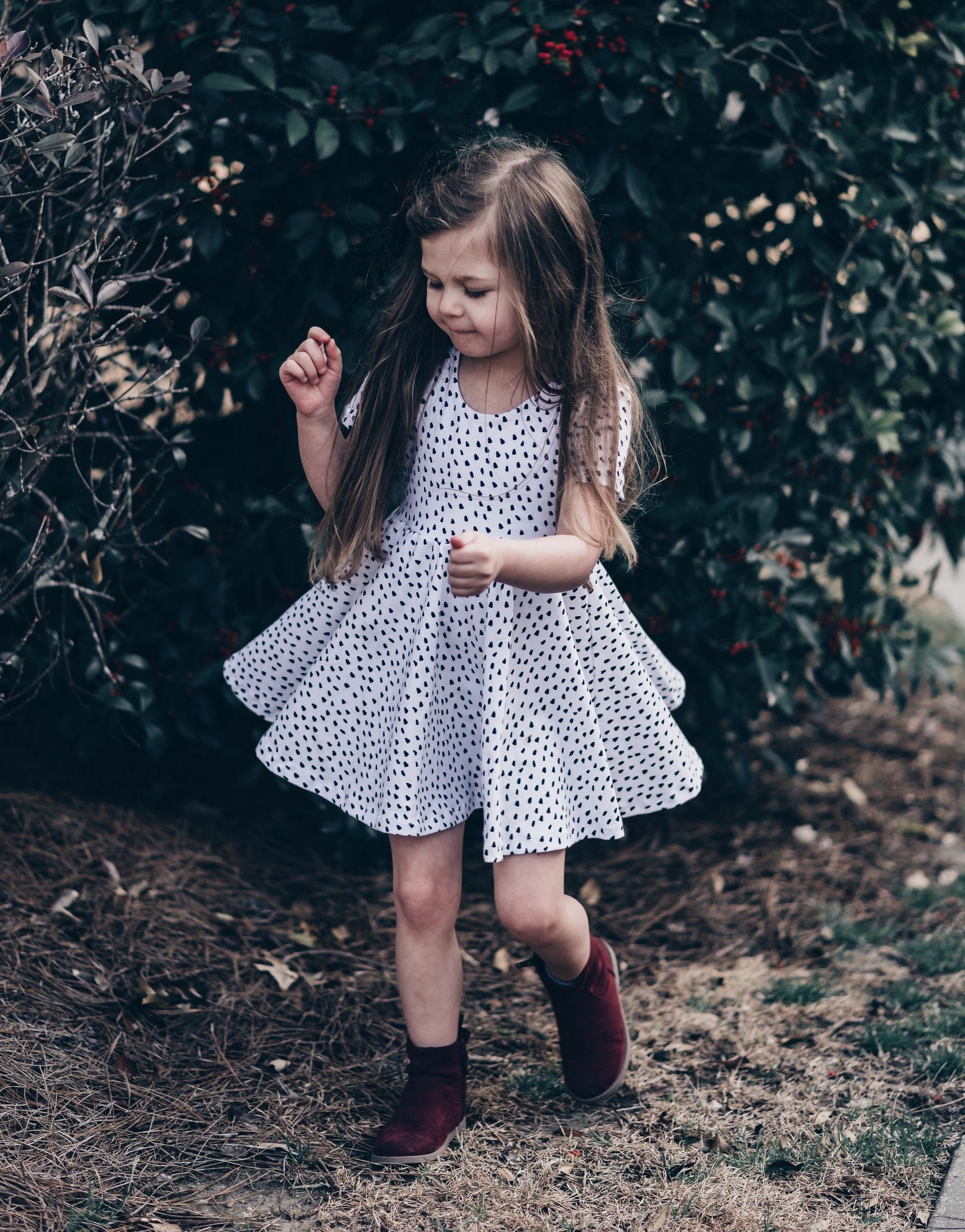 DOTTY Twirl Dress