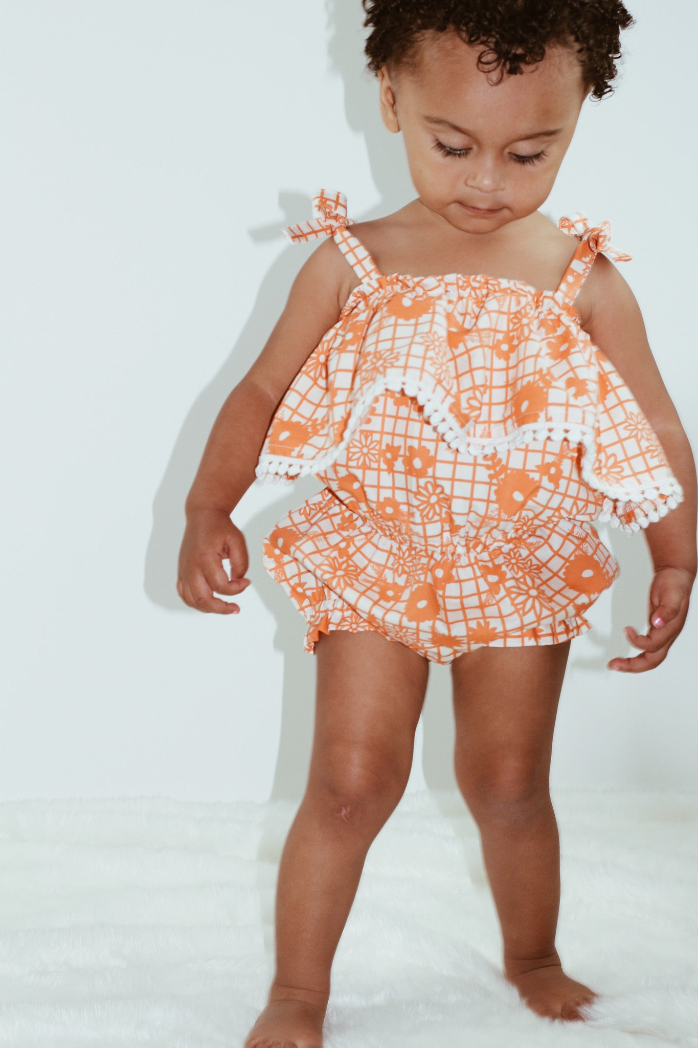 SUMMER STRAWBERRIES Sunsuit Romper