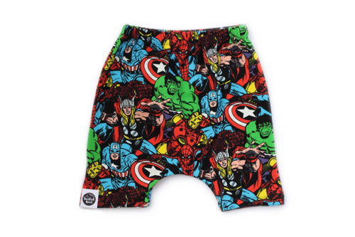 MARVELS Long Harem Shorts