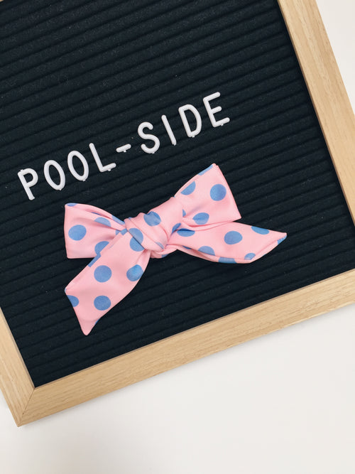 Cotton Candy Dots POOLSIDE LANA Bow