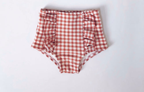 ROSE Gingham Hot Pants