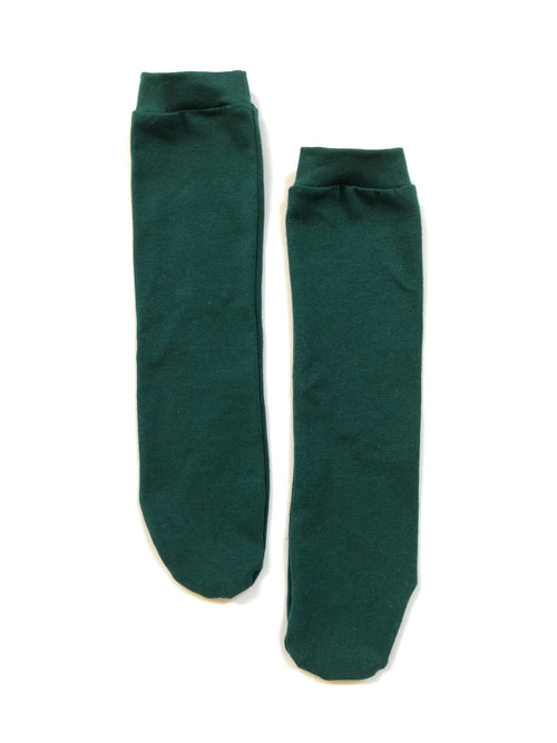 FOREST GREEN Knee High Socks