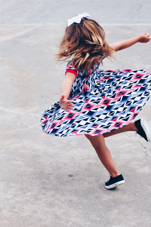 NO SKATER LEFT BEHIND Twirl Dress