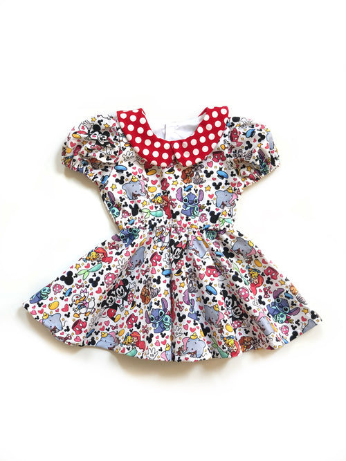 DISNEY BESTIES Shortie Dress