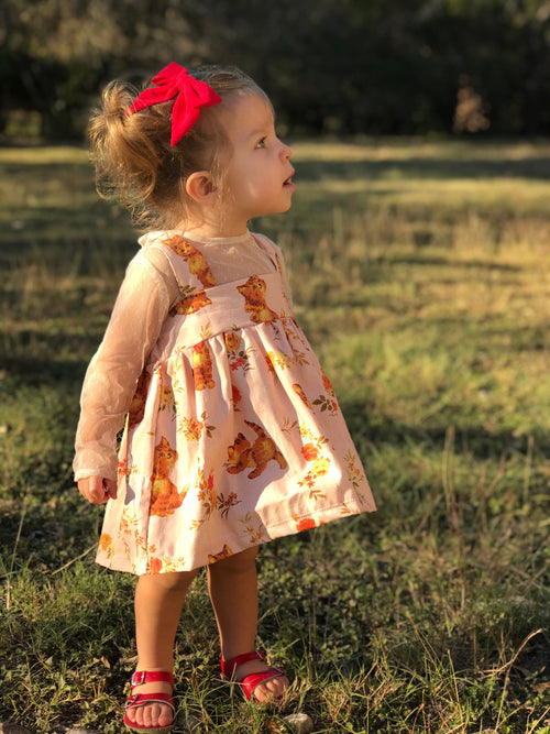 RETRO KITTY Baby Doll Dress