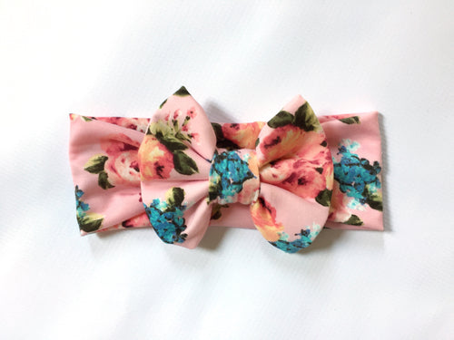 ERICA FLORAL Classic Bow Headband