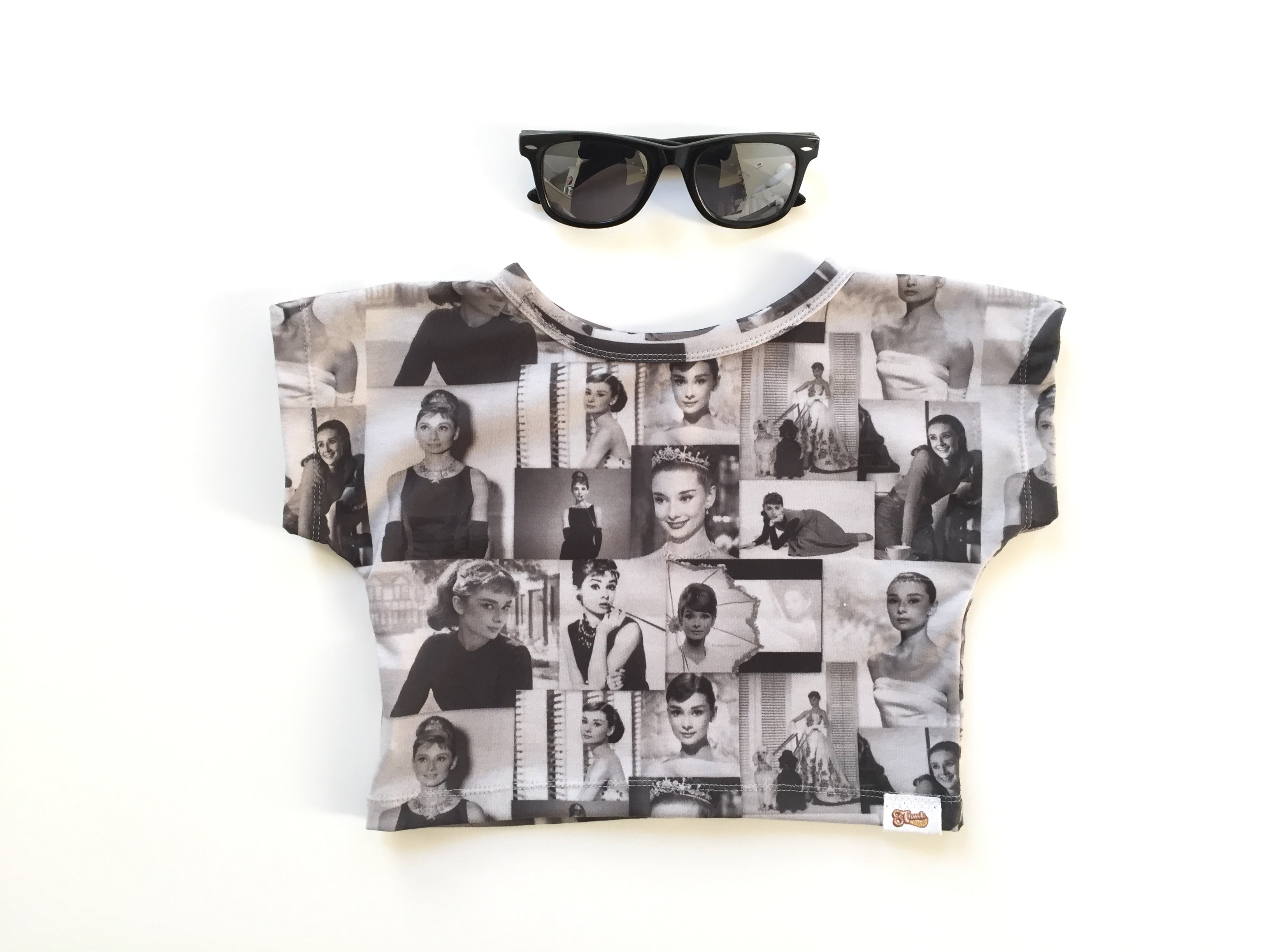 7db2d33d3 AUDREY HEPBURN Dolman Crop Top – 8 Track Threads