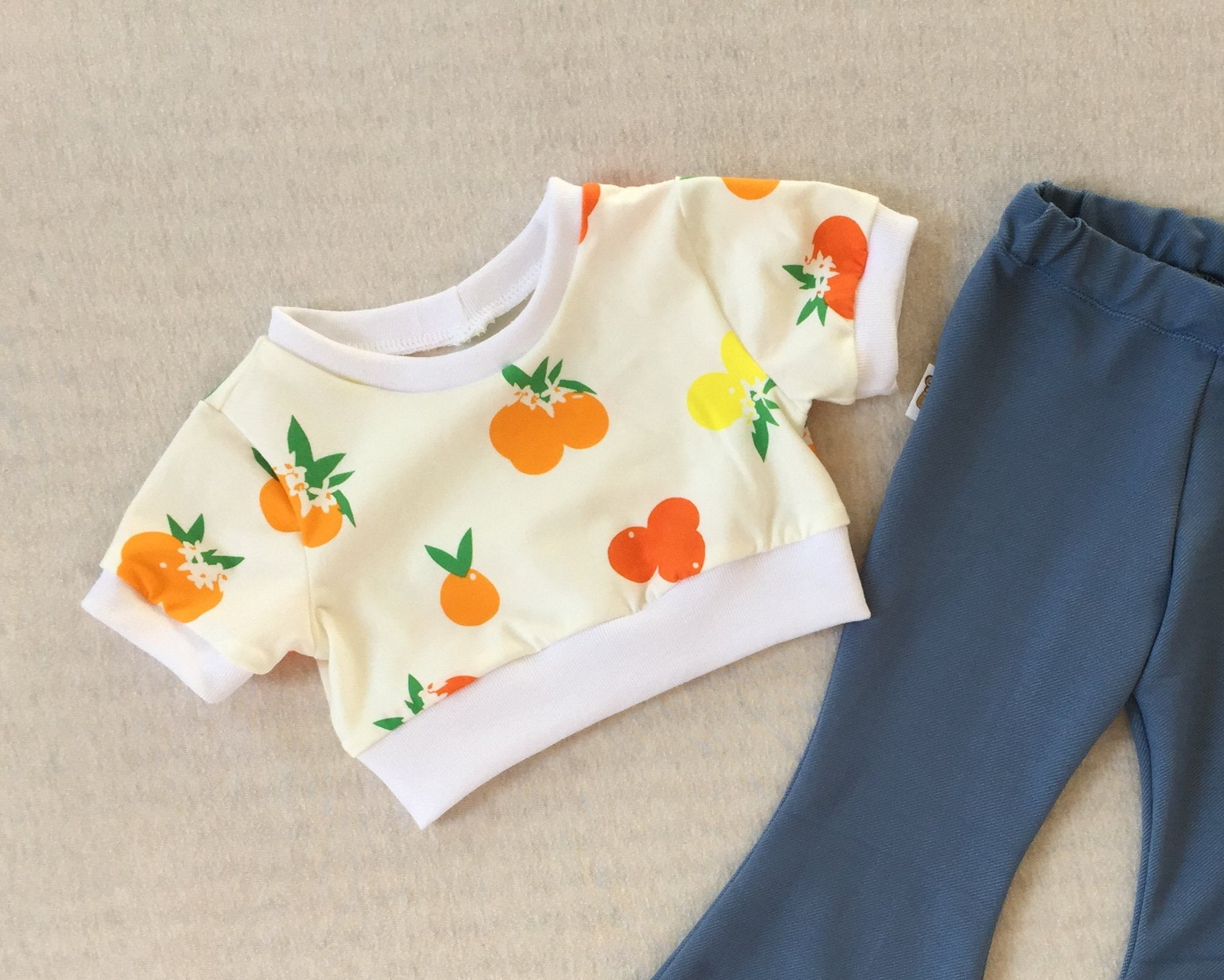 CITRUS SUNRISE Crop Top
