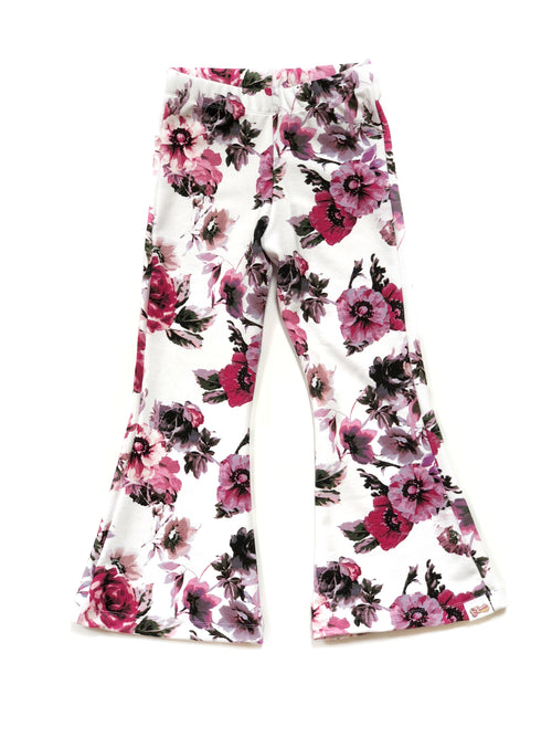 GROOVY FLORAL Bell Bottoms