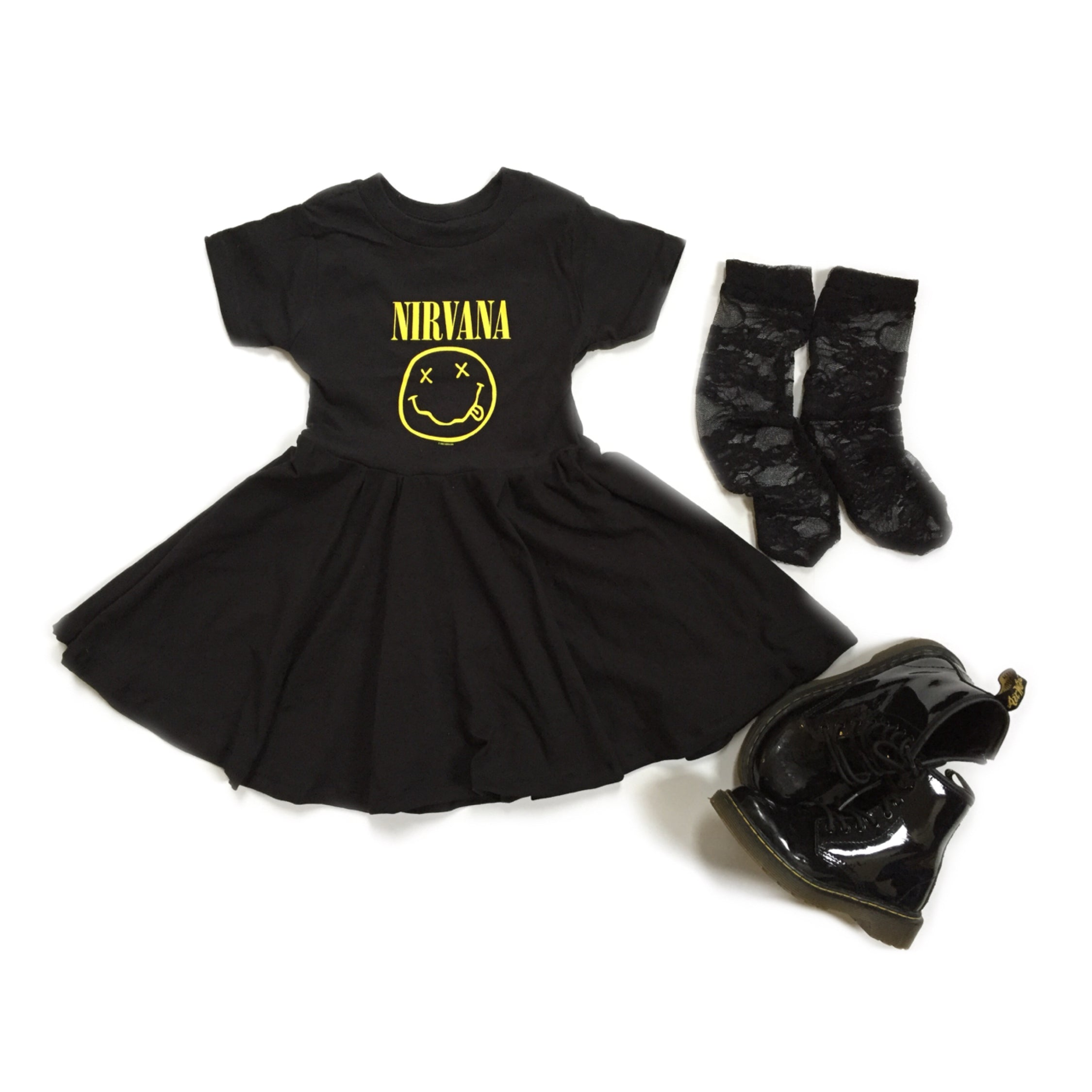 NIRVANA Mini Twirl Dress