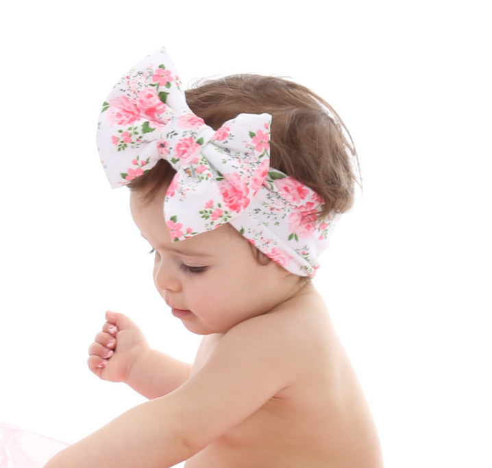 MAY FLOWERS Classic Bow Headband