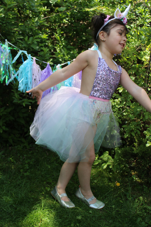 UNICORN PARTY Tutu Romper
