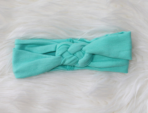TURQUOISE Braided Headband