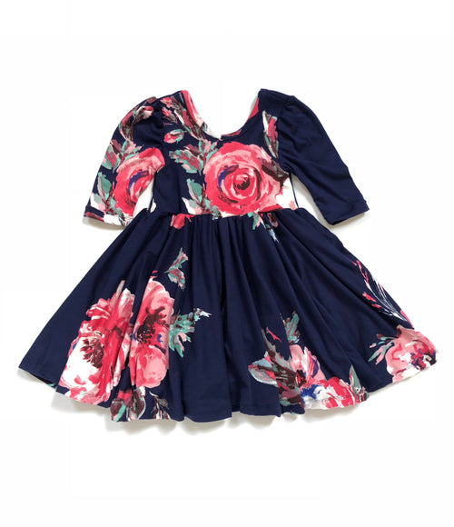 ADELINE FLORAL Twirl Dress