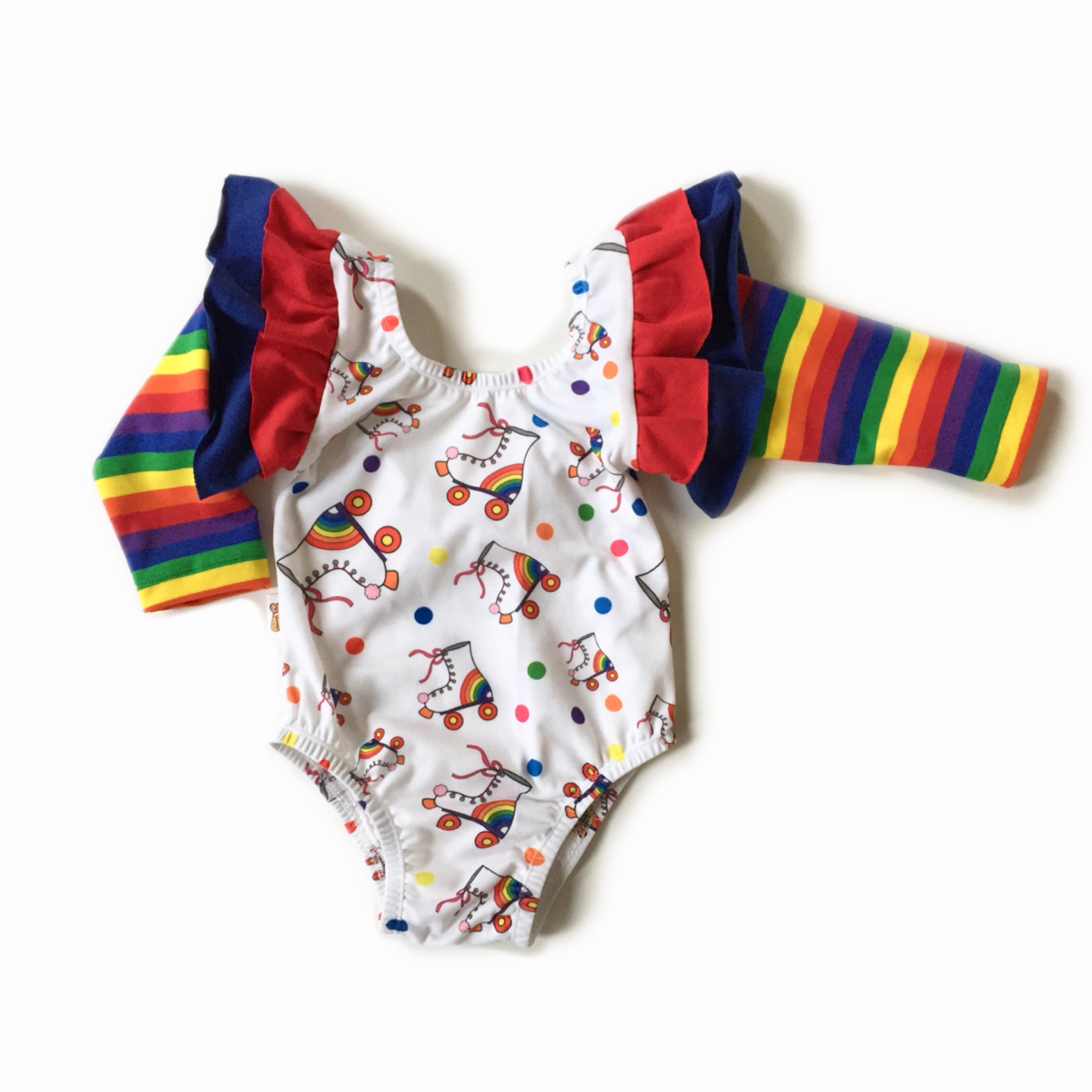 RAINBOW ROLLER GIRL Leotard