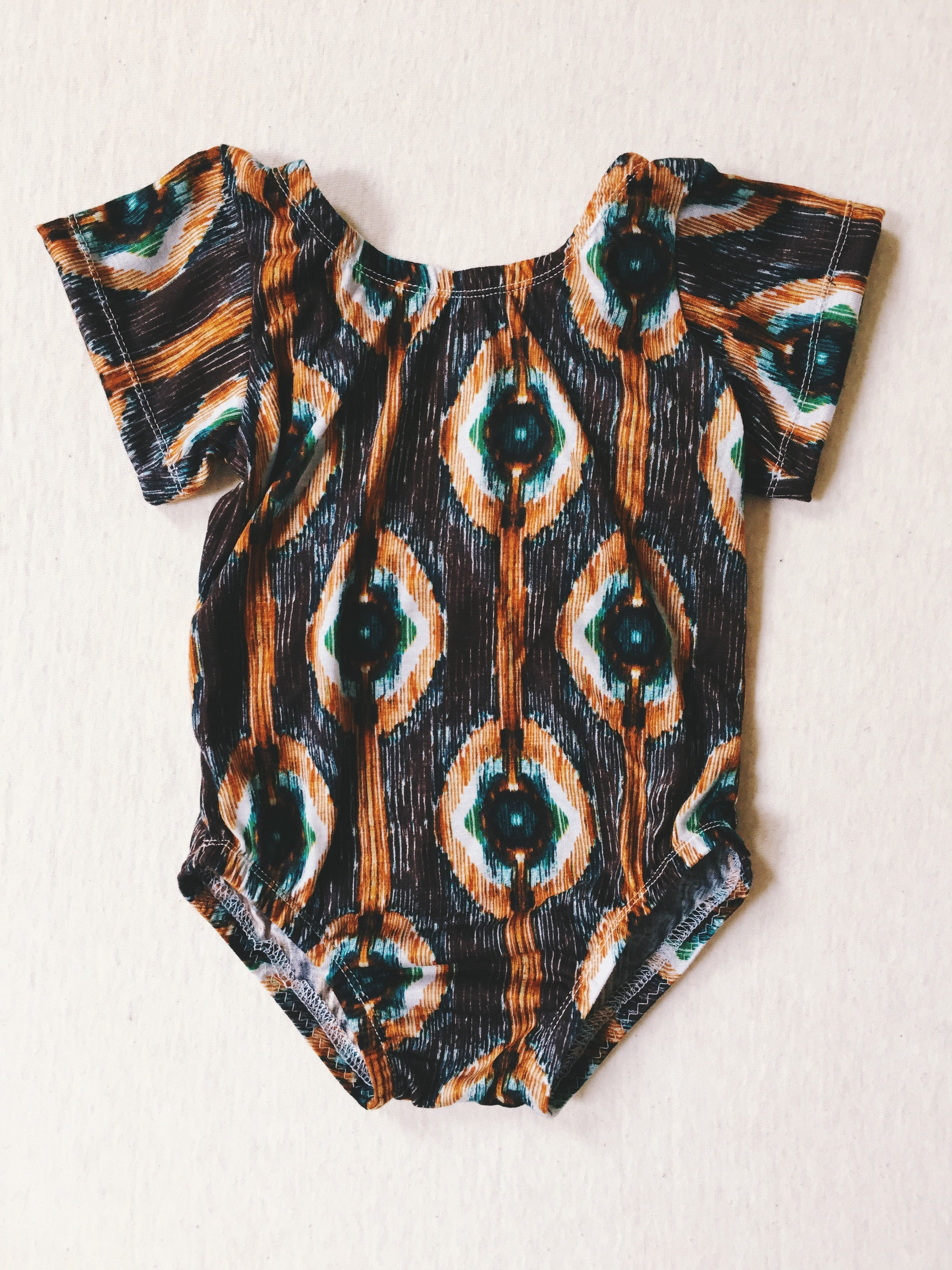 HALF MOON BAY Short Sleeve Leotard