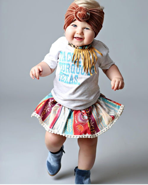 AUGUST Boho Skirted Bloomer