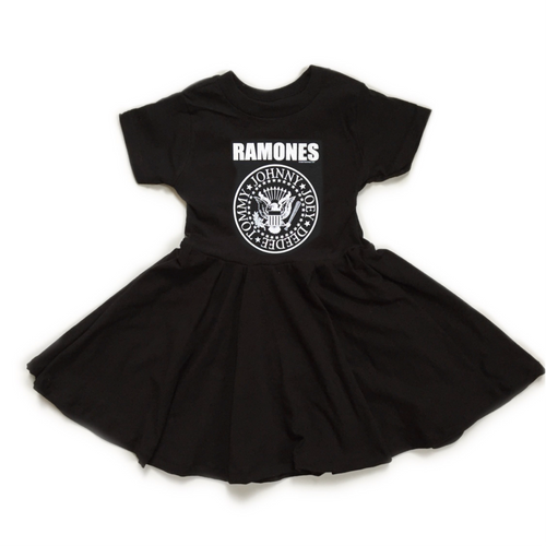 THE RAMONES Mini Twirl Dress