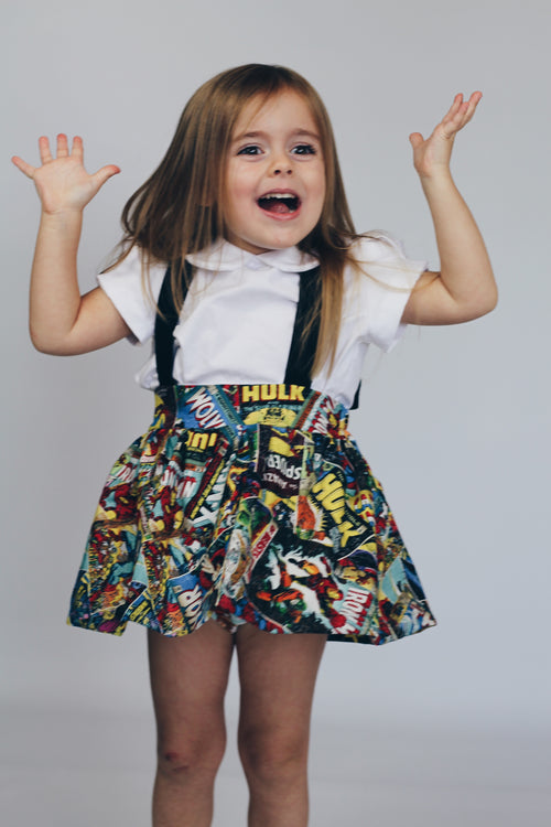 MARVELS Suspender Skirt