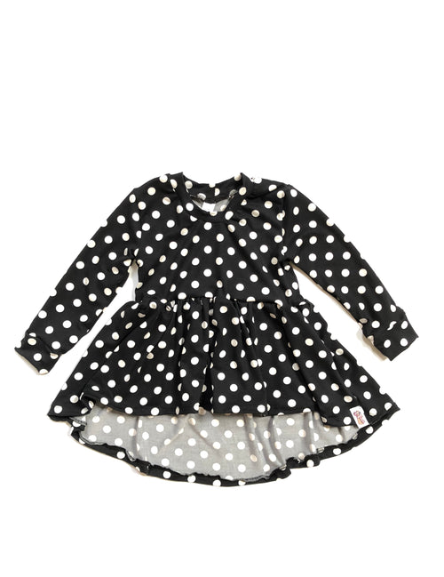 POLKA DOTS Joplin High Low Peplum