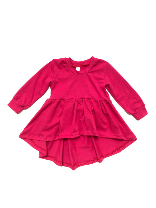 FUCHSIA Joplin High Low Peplum
