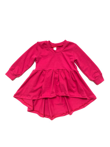 BARBIE PINK Peplum