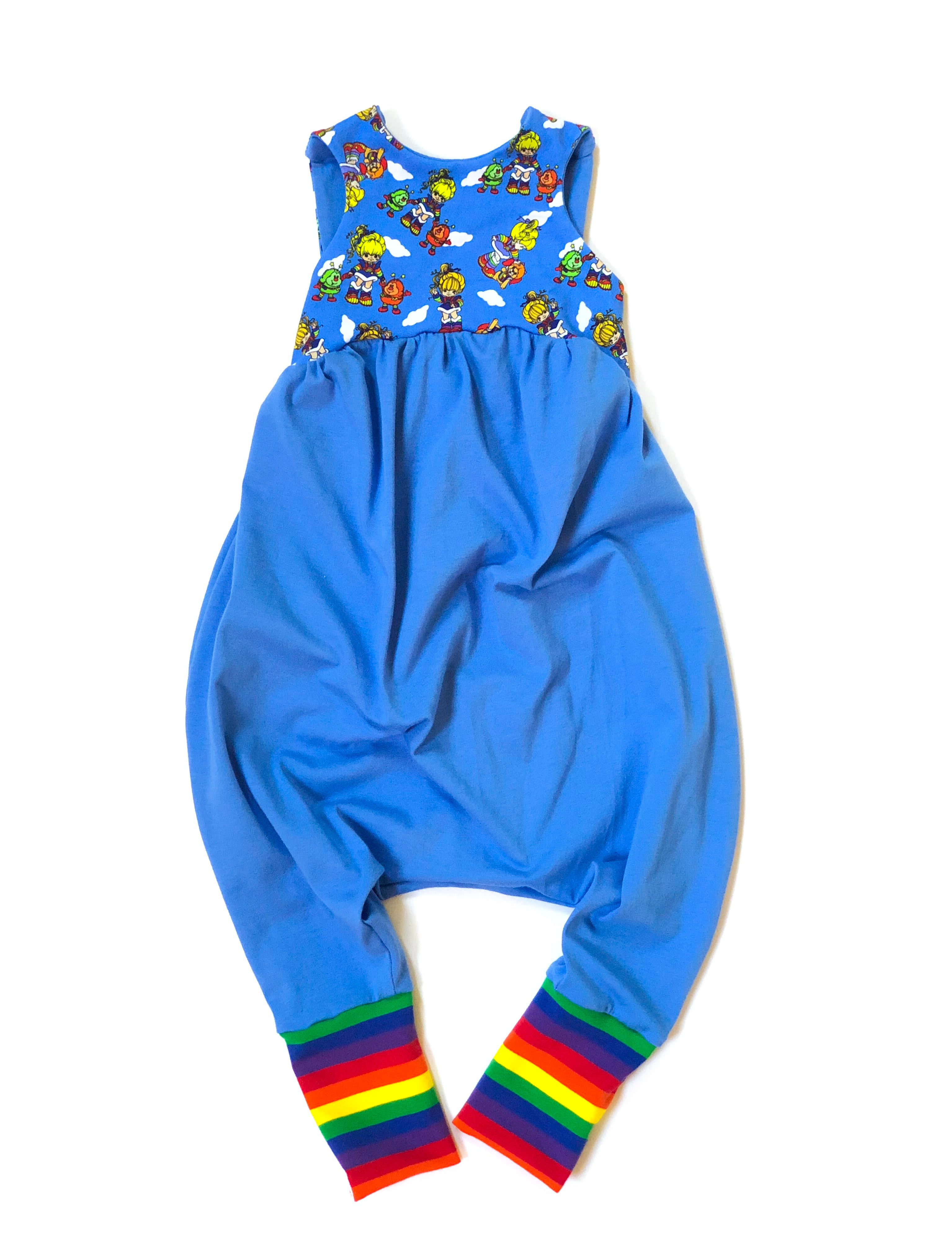 edf20acce769 RAINBOW BRITE Cat Walk Sleeveless Romper – 8 Track Threads