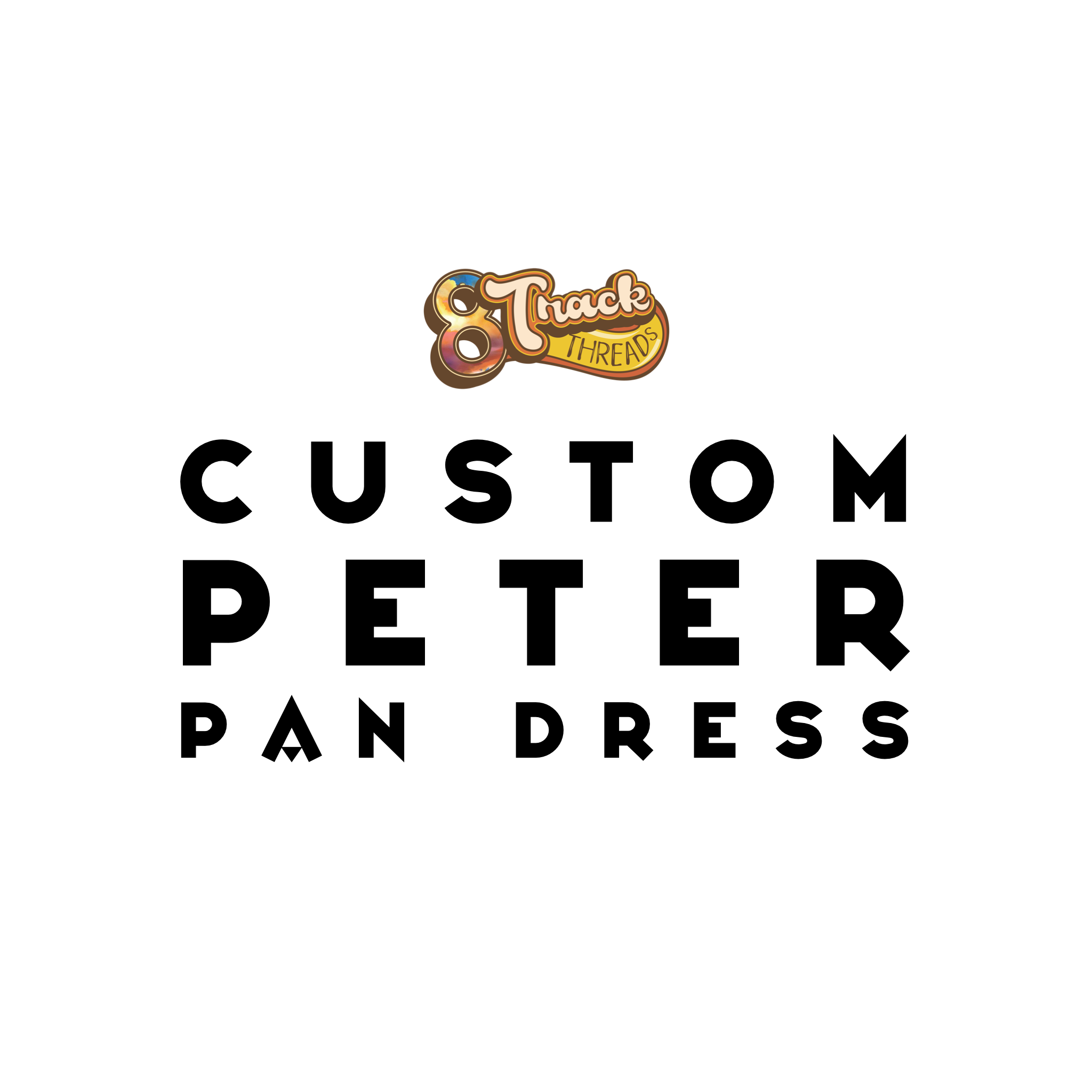 CUSTOM Peter Pan Open Back Dress