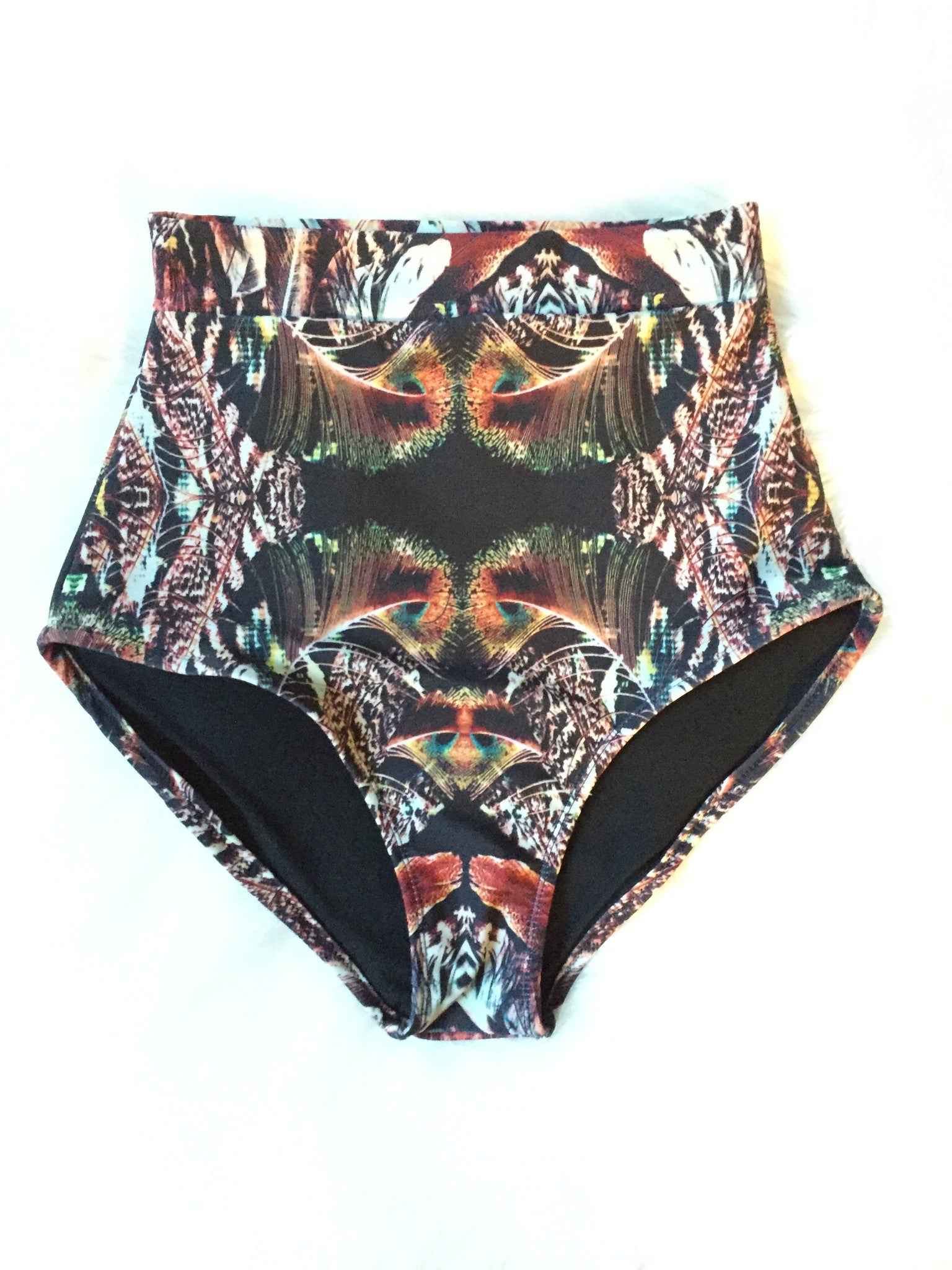 CHOOSE YOUR PRINT - WOMEN'S High Waisted Bikini Bottoms