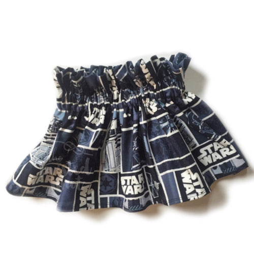 STAR WARS High Waisted Ruffle Skirt