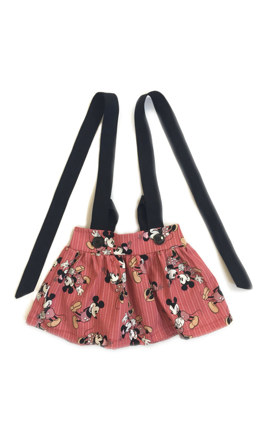DISNEY MINNIE & MICKEY Suspender Skirt
