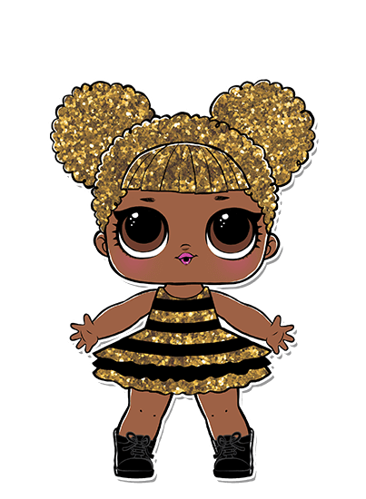 Lol Doll Queen Bee Skinny Tee 8 Track Threads
