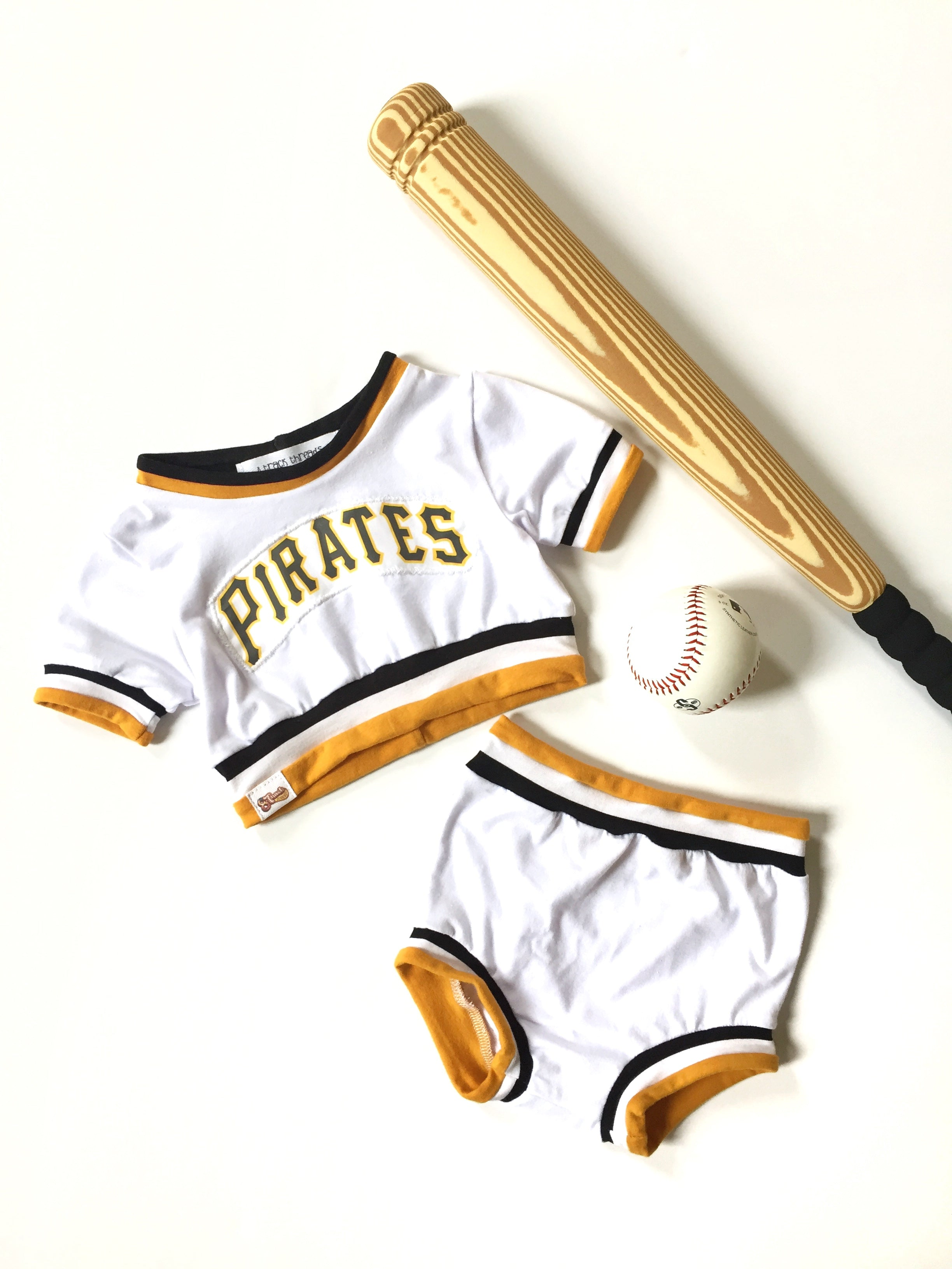 PITTSBURGH PIRATES Retro Baseball Uniform Bummies