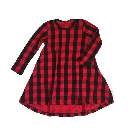LUMBER JANE Tunic Dress