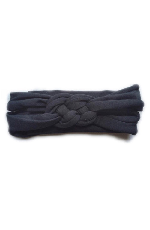 Black Braided Headband