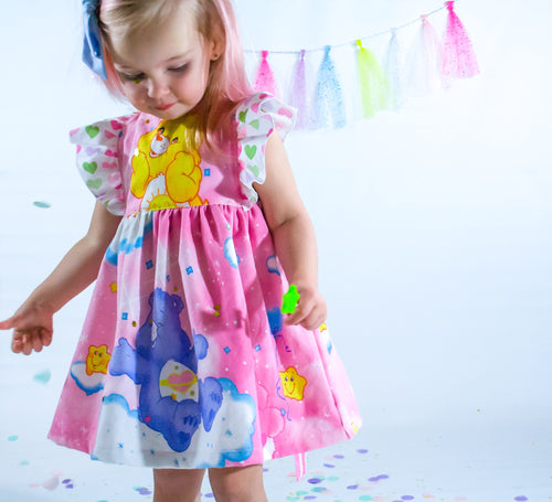 CARE BEARS Vintage Pinafore Dress