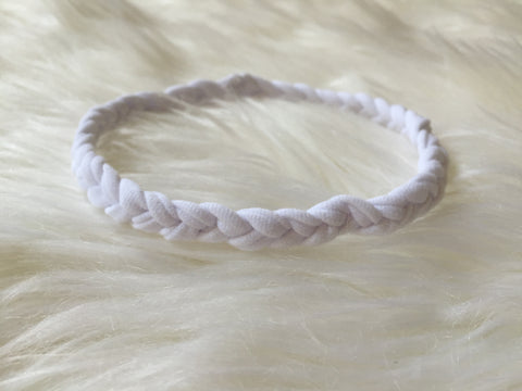 Skinny Boho Braided Headband