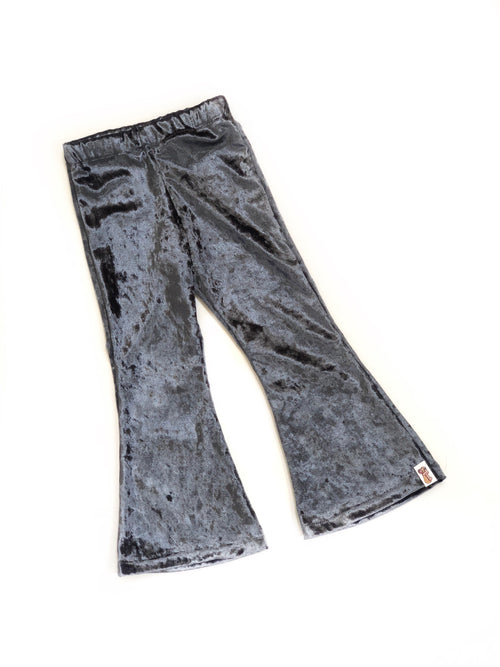 GUNMETAL GRAY Bell Bottoms