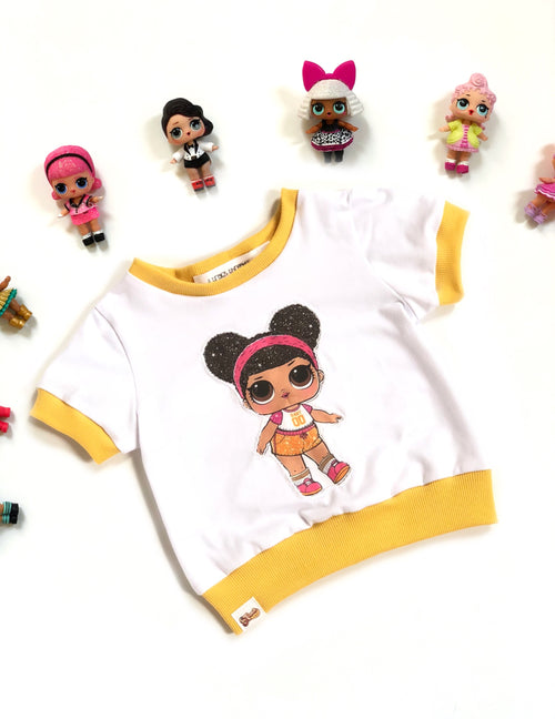 LOL DOLL HOOPS Skinny Tee