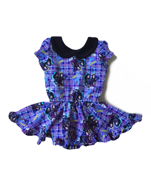 DESCENDANTS Plaid Shortie