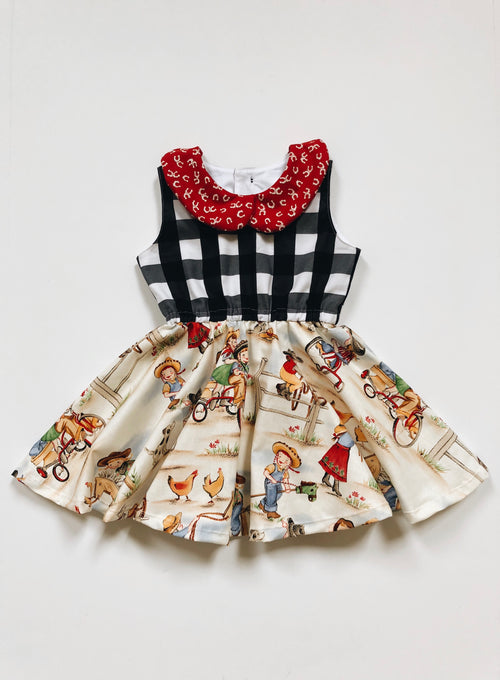 RETRO COWGIRL Shortie Dress