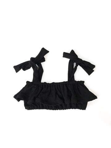 BLACK Peplum