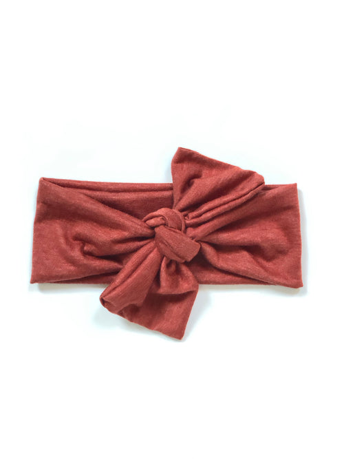 RUST Top Knot Headwrap