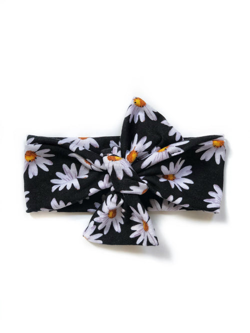 DAISIES Top Knot Headwrap