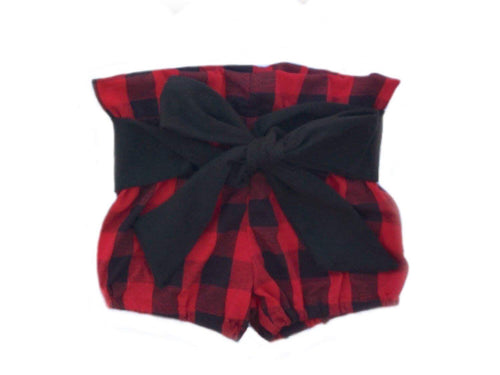 LUMBER JANE High Waisted Ruffle Shorts