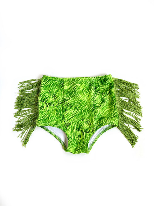 GRINCH FRINGE Hot Pants