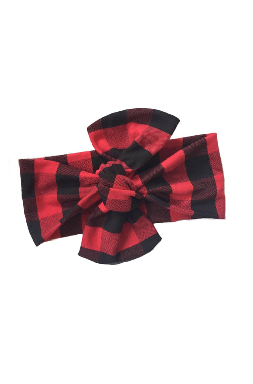 LUMBER JANE Top Knot Headwrap