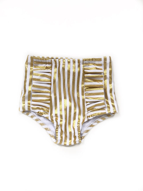 GOLD BEETLEJUICE Hot Pants