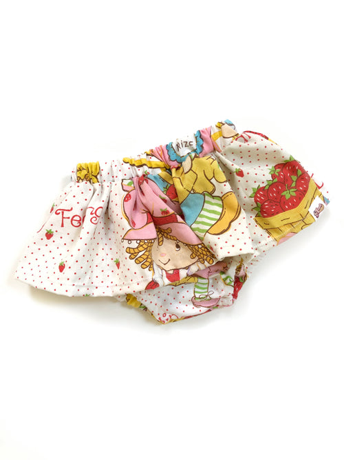 VINTAGE STRAWBERRY SHORTCAKE Skirted Bloomer
